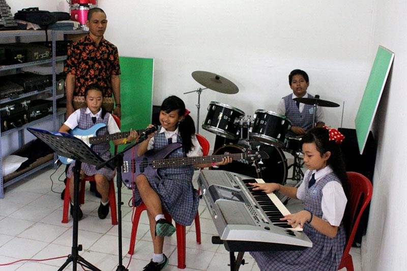 Ruang Musik SD St. Yoseph 2 Denpasar