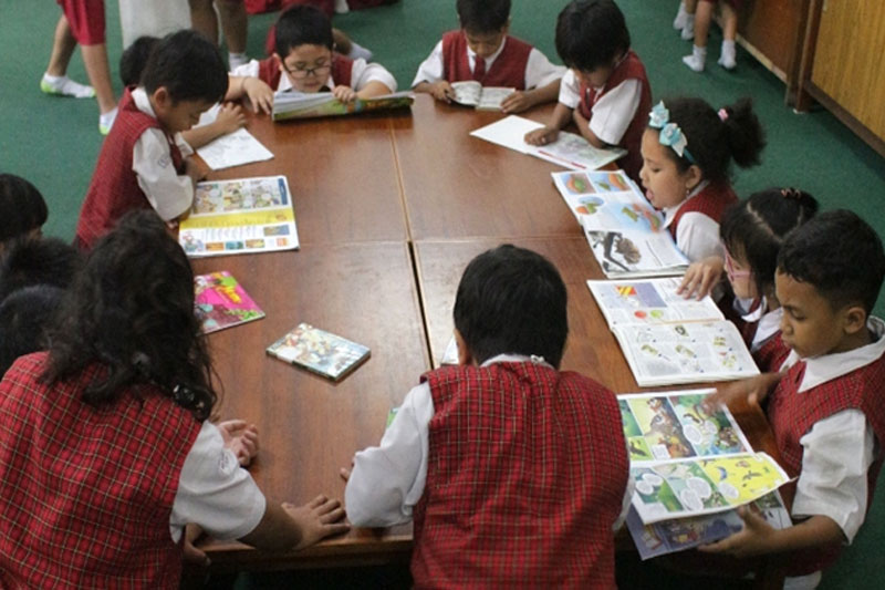 Ruang Perpustakaan SD St. Yoseph 2 Denpasar